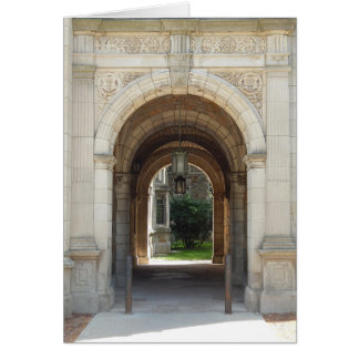 Archway To Courtyard Card