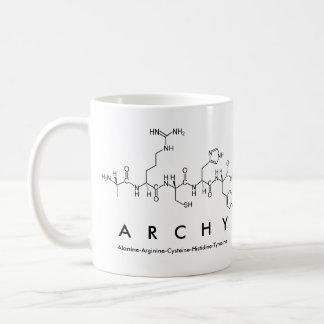 Archy peptide name mug