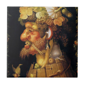 Arcimboldo Autumn Tile