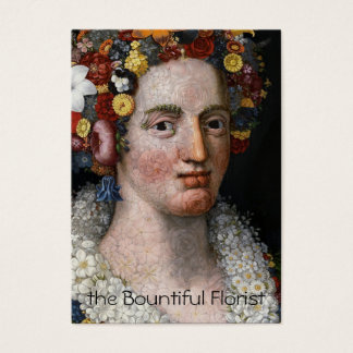 Arcimboldo - Flora - Florist Business Card