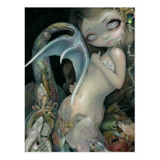 """""""Arcimboldo Mermaid"""" Postcard"""