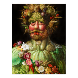Arcimboldo Rudolf II Postcard