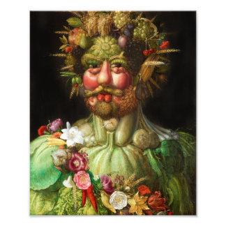Arcimboldo Rudolf II Print Photograph