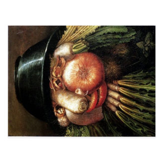 Arcimboldo The Greengrcer Postcard