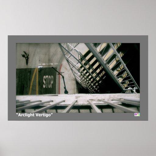"""Arclight Vertigo Matte Poster 30.20"""" x 18.32"""""""