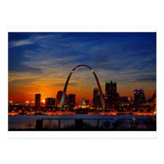 Arco 1788 de St. Louis Tarjeta Postal