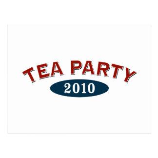 Arco 2010 de la fiesta del té tarjeta postal