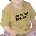 ¡Arco a su Sensei! Camisetas