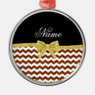 Arco anaranjado conocido personalizado de los galo adorno