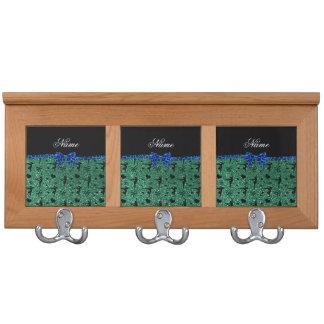 Arco azul de la gimnasia verde conocida de encargo