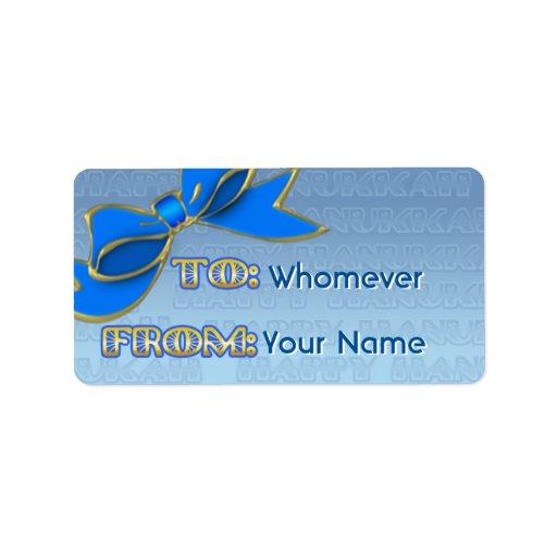 Arco azul Jánuca (etiquetas personalizadas del Etiquetas De Dirección