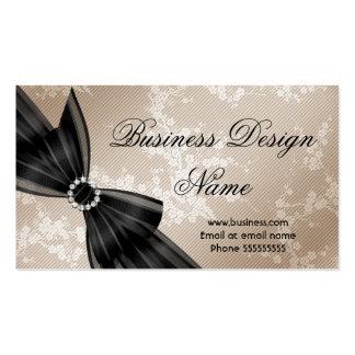 Arco beige floral elegante del diamante negro del
