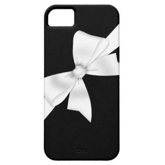 Arco blanco elegante iPhone 5 Case-Mate protectores