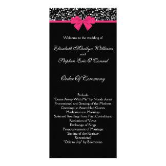 Arco blanco y negro del rosa de rosas tarjetas publicitarias a todo color