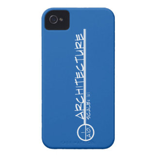 Arco. Caja de Blackberry del título del dibujo iPhone 4 Case-Mate Carcasa