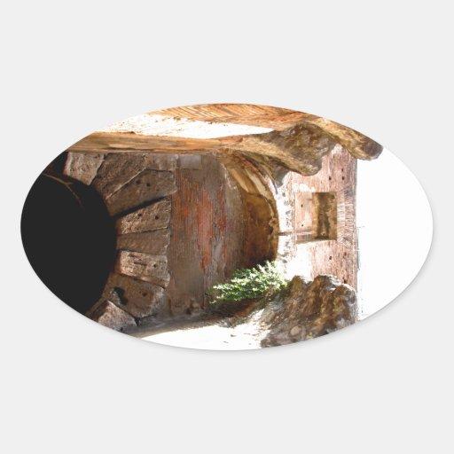 Arco Calcomanía De Óval