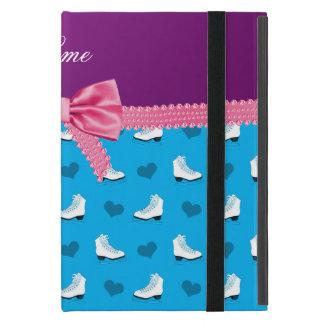 Arco conocido de encargo del rosa de los corazones iPad mini protectores