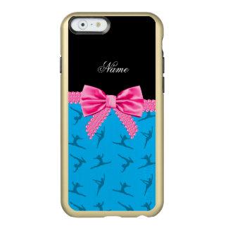 Arco conocido personalizado del rosa de la funda para iPhone 6 plus incipio feather shine