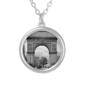 Arco cuadrado de Washington Colgante Redondo