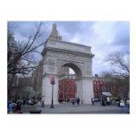 Arco cuadrado de Washington Postales