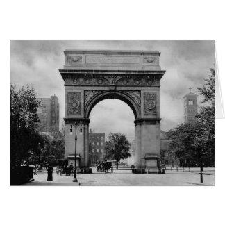 Arco cuadrado de Washington Tarjeta De Felicitación