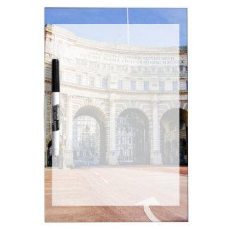 Arco de Admirality, la alameda, Londres Reino Pizarras Blancas De Calidad