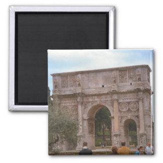Arco de Constantina, Roma Imán Cuadrado