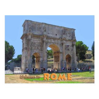 Arco de Constantina Roma Postal