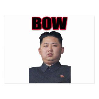 arco de Kim Jong-il Postal