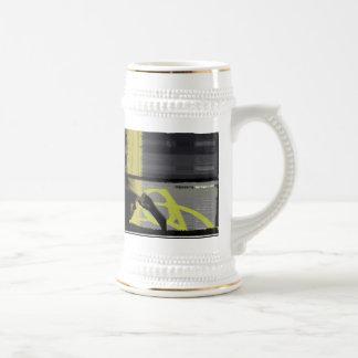 Arco de la cadera taza de café