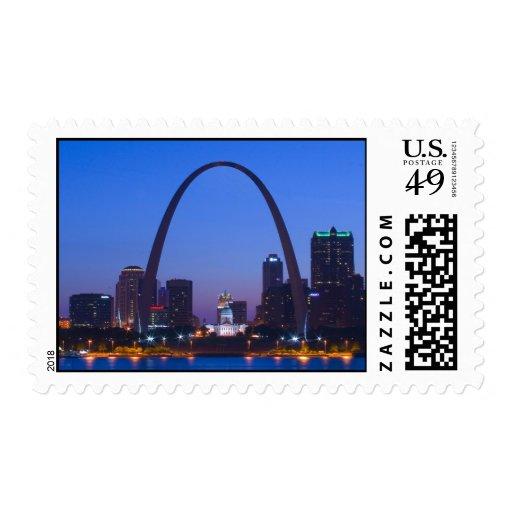 Arco de la entrada de St. Louis Envio