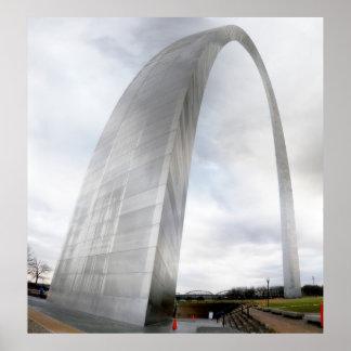 Arco de la entrada de St. Louis Posters
