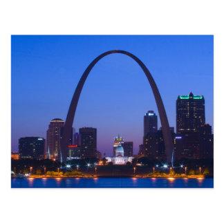 Arco de la entrada de St. Louis Postales