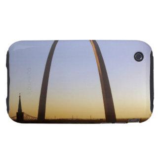 Arco de la entrada, St. Louis, MES Carcasa Though Para iPhone 3