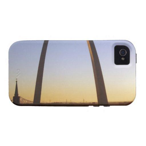 Arco de la entrada, St. Louis, MES Vibe iPhone 4 Carcasa