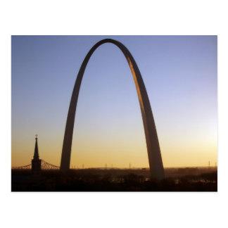 Arco de la entrada St Louis MES Postales