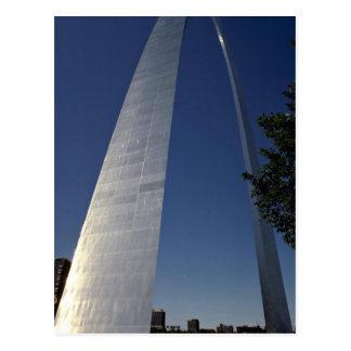 Arco de la entrada, St. Louis, Missouri, los E.E.U Tarjeta Postal