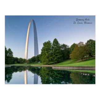 Arco de la entrada - St. Louis Missouri Tarjetas Postales