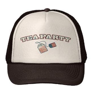 Arco de la fiesta del té gorras