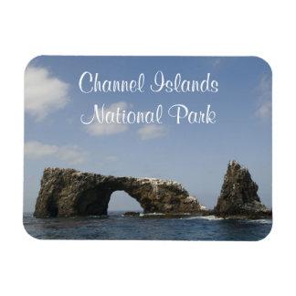 Arco de la isla de Anacapa, parque nacional de las Imán Flexible