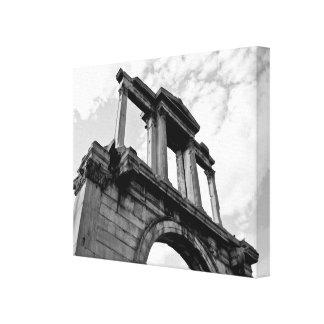 Arco de la lona blanco y negro de Hadrian Lona Estirada Galerias