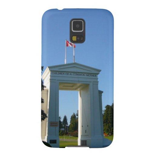 Arco de la paz - frontera de Washington-A.C. Funda De Galaxy S5