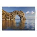 Arco de la puerta de Durdle, patrimonio mundial ju Tarjeta De Felicitación