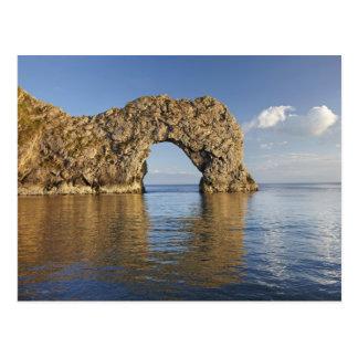 Arco de la puerta de Durdle, patrimonio mundial ju Tarjeta Postal