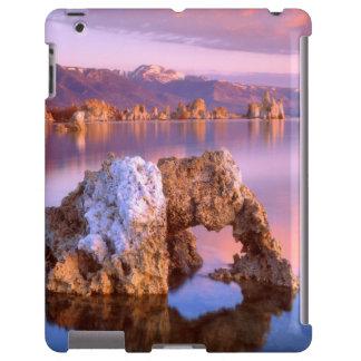 Arco de la toba volcánica en el mono lago funda para iPad