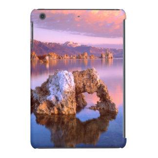 Arco de la toba volcánica en el mono lago fundas de iPad mini
