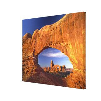 Arco de la torrecilla arcos parque nacional Utah Impresiones En Lona