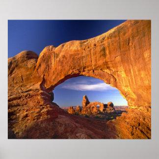 Arco de la torrecilla arcos parque nacional Utah Impresiones