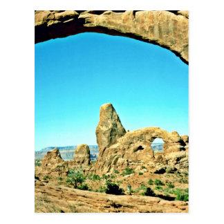 Arco de la torrecilla - parque nacional de los arc tarjeta postal