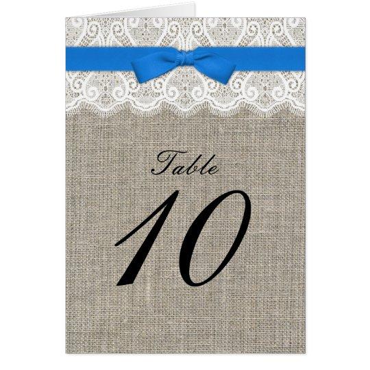 Arco de la turquesa y número de asiento de la tarjeta de felicitación